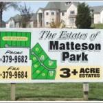 Matteson-EstateSign